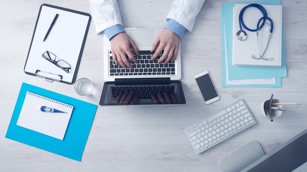 doctor-working-on-marketing